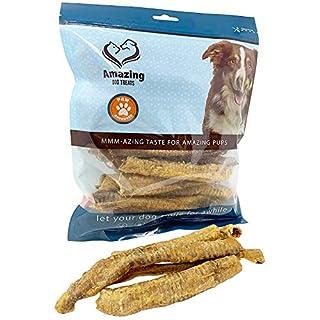 Amazing Dog Treats - Lamb Trachea - Trachea Dog Chews - Natural Source of Glucosamine & Chondroitin for Dogs- Lamb Dog Treats (10 oz - (18-20 Count))