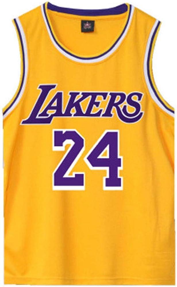 Lakers Kobe 24 # Baloncesto Jersey Home Service Kan manga ...