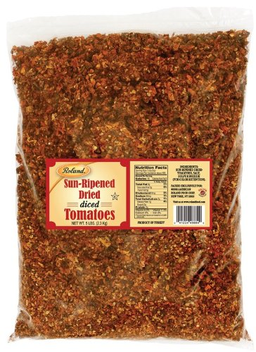 Roland Diced Sun Dried Tomatoes 20 Lb (2 Pack)