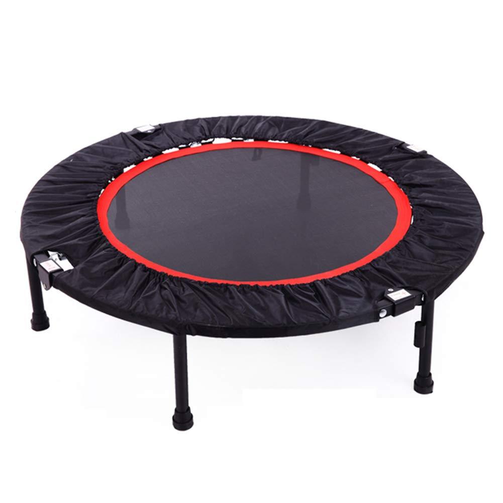 40 Zoll Trampolin Tragbare Trampoline Cardio Training Fitnessgeräte Erwachsene und Kinder Max Last 330 Lbs