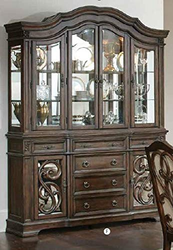 amazon com coaster home furnishings traditional china cabinet with rh amazon com china cabinets with sliding glass doors small china cabinets with glass doors