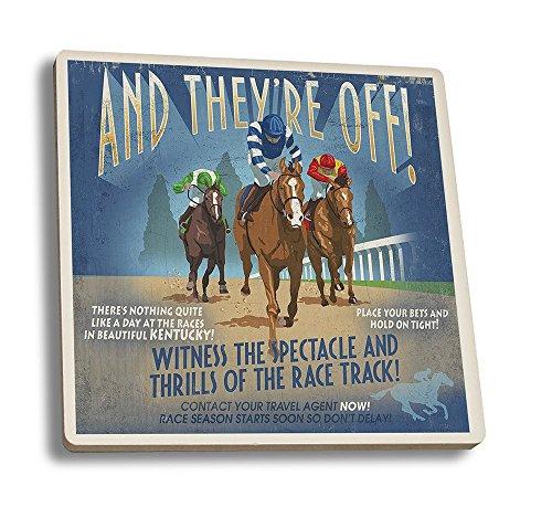 Horse Coaster Set - 6