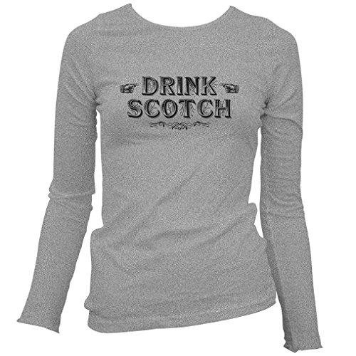 smash-vintage-womens-drink-scotch-long-sleeve-t-shirt-heather-gray-medium