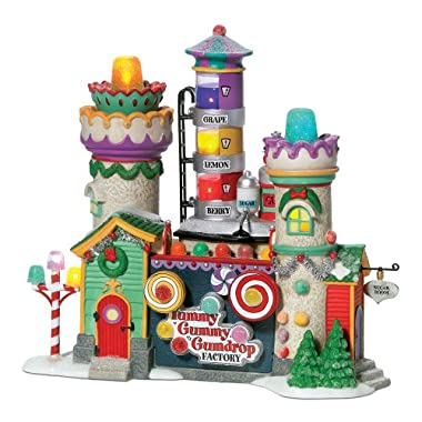 Department 56 North Pole Yummy Gummy Gumdrop Factory