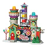 Department 56 North Pole Village Yummy Gummy Gumdrop Factory Lit Building