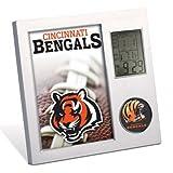 Cincinnati Bengals WinCraft Thermometer Desk Clock