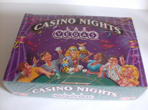 Casino Nights Las Vegas Game and Party Kit Complete with Games and Invitations