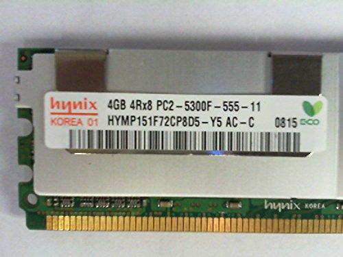(HYNIX HYMP151F72CP8D5-Y5 4GB SERVER DIMM DDR2 PC5300(667) FULL-BUF ECC 1.8v 4RX8 240 512MX72 128mX8)