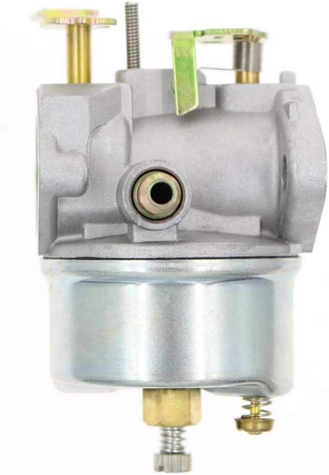 LQKYWNA Adjustable Carburetor with Gasket for Tecumseh 8HP 9HP 10HP Snowblower 640349 640052 640054