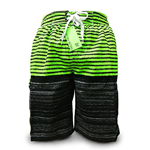 Tailor Pal Love Mens Swim Trunks Board Shorts with Brief Type Mesh Lining Green M