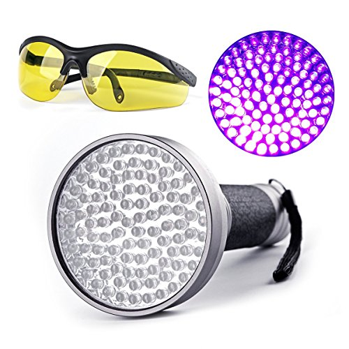 escolite-100-uv-black-light-395nm-led-flashlight-for-cat-pet-urine-scorpion-detectors-battery-operat