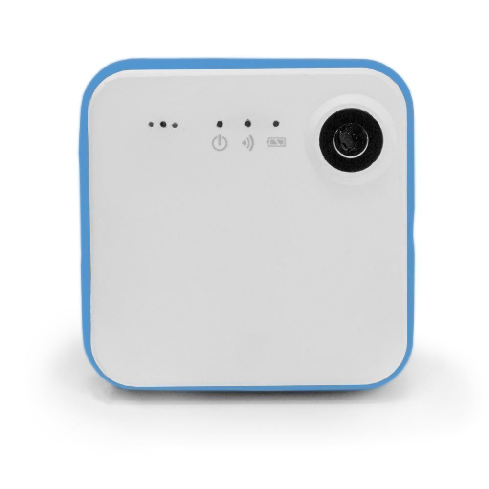 iON Camera SnapCam Wearable HD Camera with Wi-Fi and Bluetooth (White)