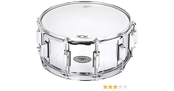 DC Snare by Pure Series - Basix - Caja de acero, 14 x 6.5