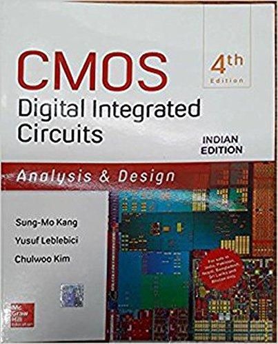Cmos Digital Integrated Circuits, 4 Ed