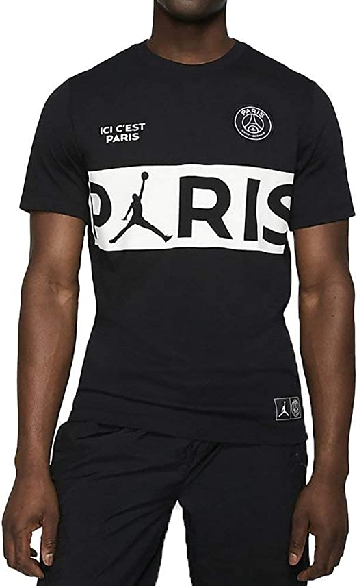 Nike PSG SS Wordmark Camiseta, Hombre: Amazon.es: Deportes y aire ...
