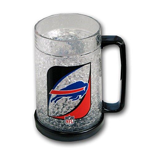16Oz Crystal Freezer Mug NFL - Buffalo Bills (Buffalo Bills 16 Oz Crystal)