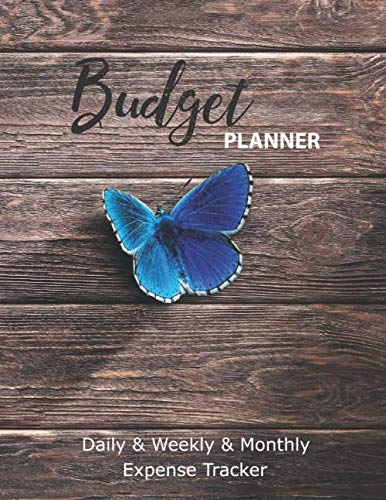 Budget Planner. Daily & Weekly & Monthly  Expense Tracker: 12-Month Calendar Planner:  8.5 x 11 inches. Budgeting Notebook. Calendar Expense Tracker Organizer and Financial Planner Workbook. by RB Studios