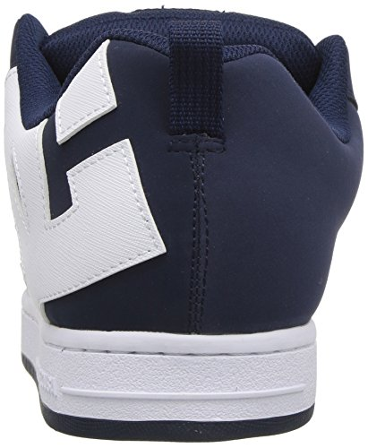 Shoes Wht 11 Blue nvw Top Sneaker Low Court Dc Navy Graffic Men's TFqHw1Txzd