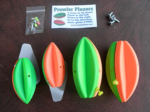 Steer It Fishing TWO 3 AND 4 IN PROWLER PLANERS ()