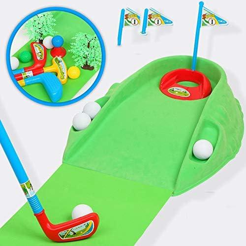 子供用プラスチックゴルフおもちゃ親子相互作用屋外屋内スポーツミニゴルフインタラクティブゲームクラブゴルフパターセットエクササイザー