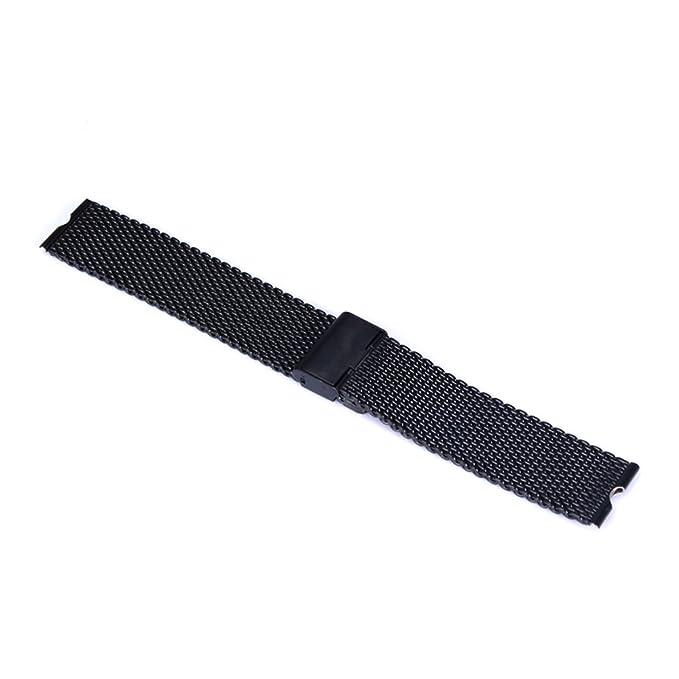 Aohro 22 mm Acero Inoxidable Correa de Reloj Band para Motorola Moto 360 SmartWatch Reemplazo Pulsera Venda Watchband con Instalación de herramientas ...