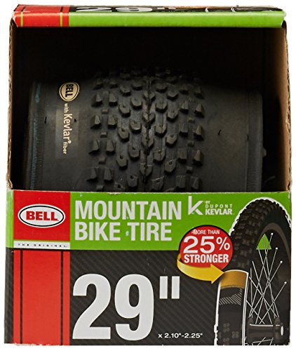 Bell Traction Mountain Tire, 29'' x 2.10'', Black by Bell (Image #2)
