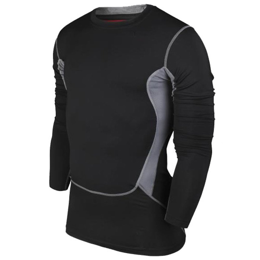 ELEAR Men's Body Shaper Long Sleeve Sports Muscle Shirt Quick drying clothes