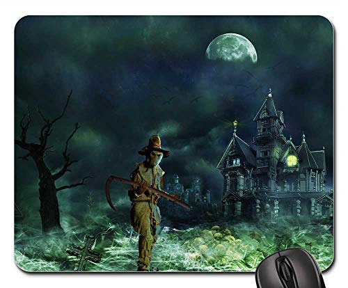 (Mouse Pads - Grim Reaper Horror Creepy Scary Fear Weird )