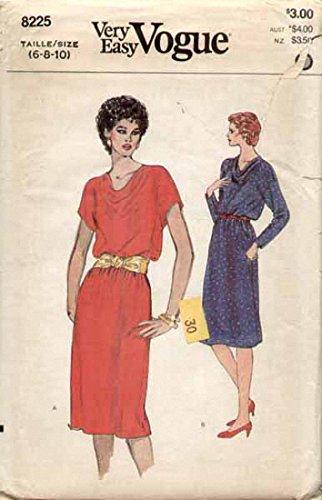 cowl neck dress patterns - 7