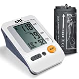 EBL Upper Arm Blood Pressure Monitor, Automatic Monitor with 90*2 Memories for 2