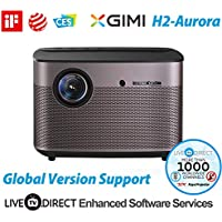 Home Cinema Projector, LiveTV.Direct Enhanced for XGIMI H2-Aurora Native 1080p HD Home Projector Android 3D Smart Video Movie Projector TV Built-in Harman/Kardon Customized HiFi Stereo