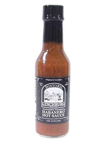 Historic Lynchburg Tennessee Whiskey Habanero Hot Sauce (Pack of 3)