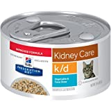 Hill's Prescription Diet k/d Kidney Care Vegetable & Tuna Stew Canned Cat Food 24/2.9 oz