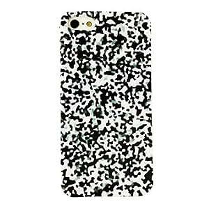MOFY-Punk Mosaicos Patr-n de pl‡stico duro caso para iPhone 5/5S , Multicolor