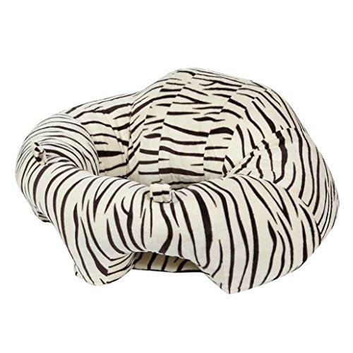 Kemilove Nursing Pillow U Shaped Cuddle Baby Seat Infant Safe Dining Chair Cushion for 3-16 Months (Zebra Stripe)