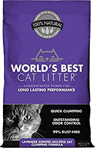 World's Best Scented Multicat Clumping Litter - 14 lb