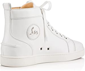 Christian Louboutin Authentic Louis Flat Calf White