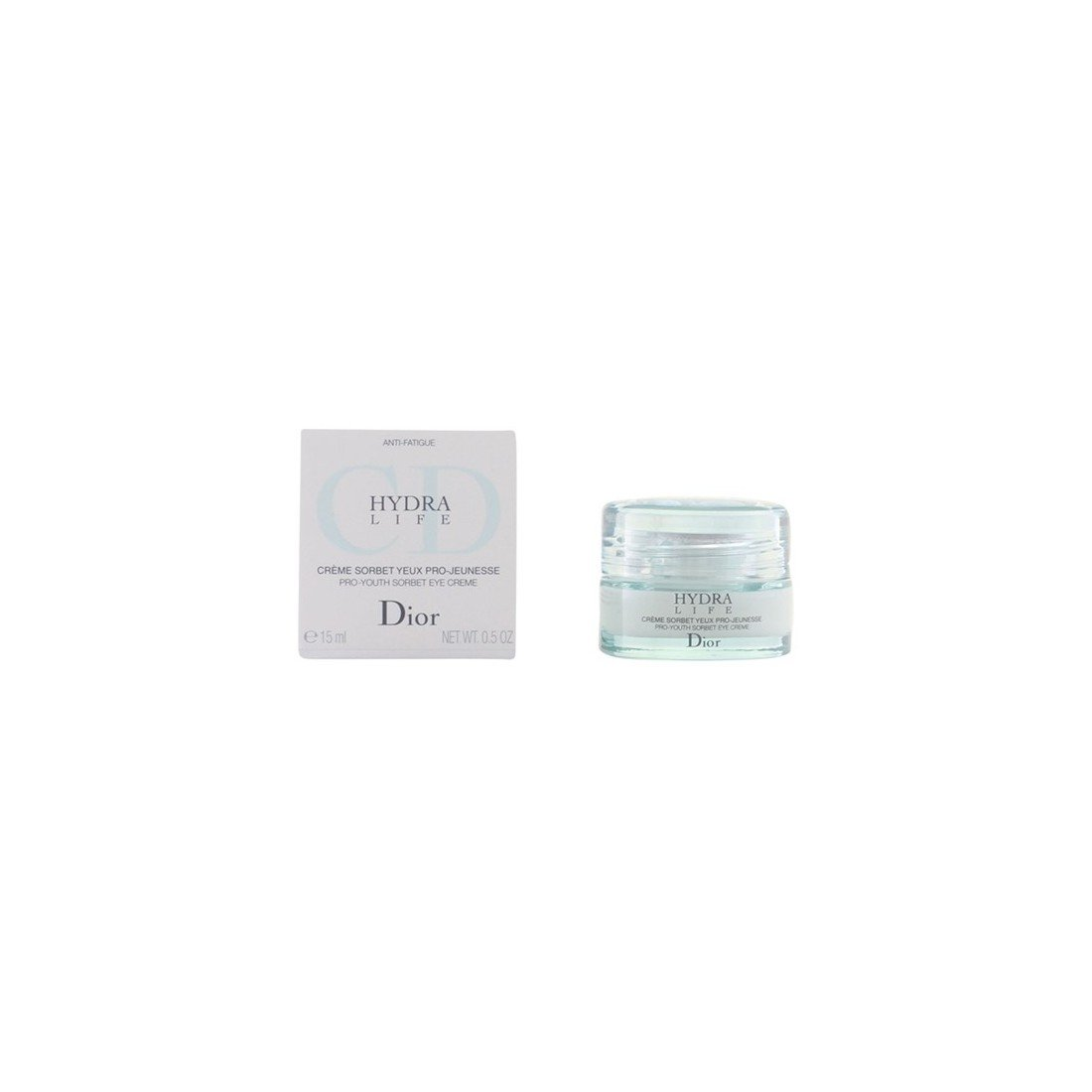Hydra Life Pro-Youth Sorbet Eye Creme by Christian Dior, 0.5 Ounce
