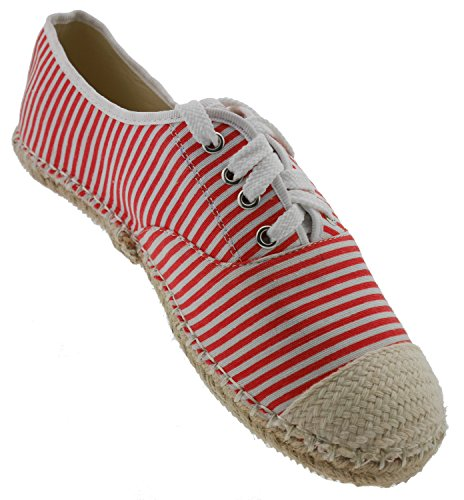 Chaussures Eva Eu Pour amp; Tom Lacets Rot À 39 De Ville Rouge Femme SF7ETn5wq