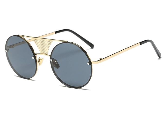 Gafas de Sol Polarizadas Hombre Mujer – Marca Retro/Vintage – Lentes Deportivas Espejadas –