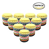 used beer caps - HAWORTHS 200 PCS Crown Bottle CaPs Decorative Bottle CaP Double Sideds Printed Craft Bottle Stickers for Hair Bows, DIY Pendants or Craft ScraPbooks Mixed Colors(10colors)