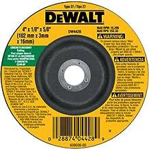 DEWALT DW4428 4-Inch by 1/8-Inch by 5/8-Inch Concrete/Masonry Cutting Wheel (Packaging May Vary)