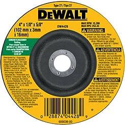 DEWALT DW4428 4-Inch by 1/8-Inch by 5/8-...