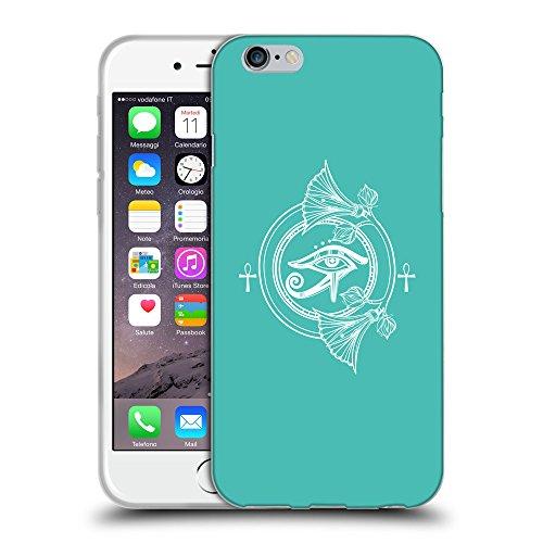 "GoGoMobile Coque de Protection TPU Silicone Case pour // Q09880634 Religion 28 Turquoise // Apple iPhone 6 4.7"""