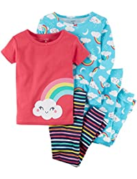 Baby Girls' 4 Pc Cotton 371g077