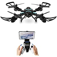 SGOTA RC Drone Foldable FPV Wifi RC Quadcopter 2.4GHz 6-Axis Gyro Altitude Hold Remote Control Drone with 2MP HD Camera Drone