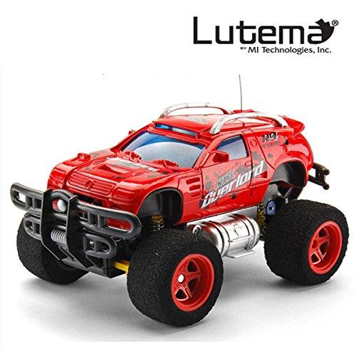 Lutema- Lutema Camión Control Remoto, Color Rojo
