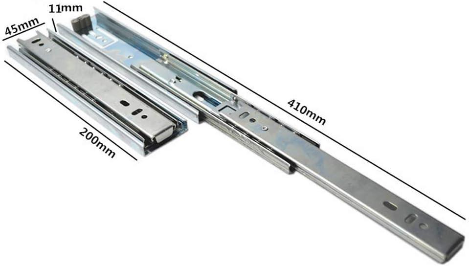 Coffrets Cadeaux Etc. avec Vis De Livraison Drawer slide Coulisses Ultra Courtes 100 Mm // 150 Mm // 200 Mm Petits Tiroirs