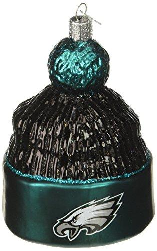 Philadelphia Eagles Christmas Ornament (Old World Christmas Philadelphia Eagles Beanie Glass Blown Ornament)