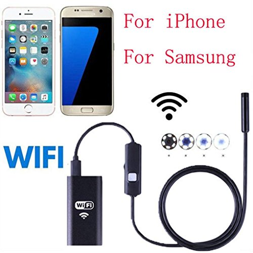 Gotd 8M Endoscope 720P HD WIFI Wireless Waterproof Camera Inspection Endoscope For iPhone Android Phone by Goodtrade8